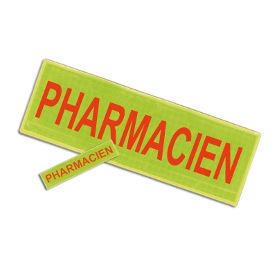 Badge et barrette PHARMACIEN