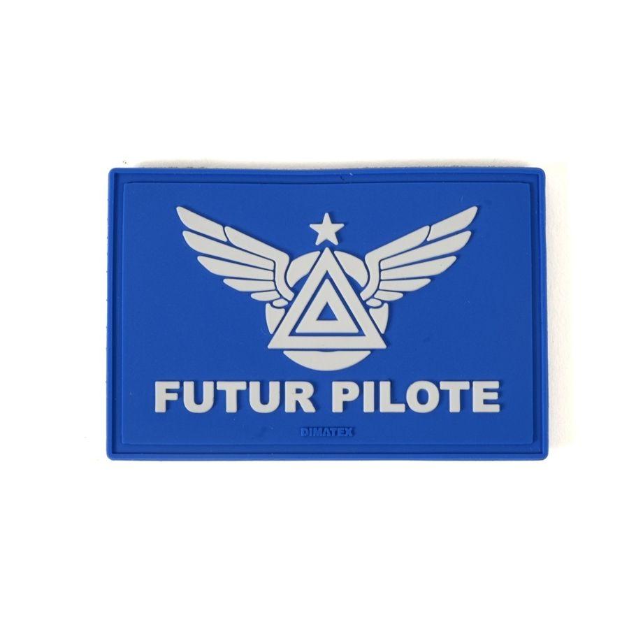 Patch FUTUR PILOTE Bleu
