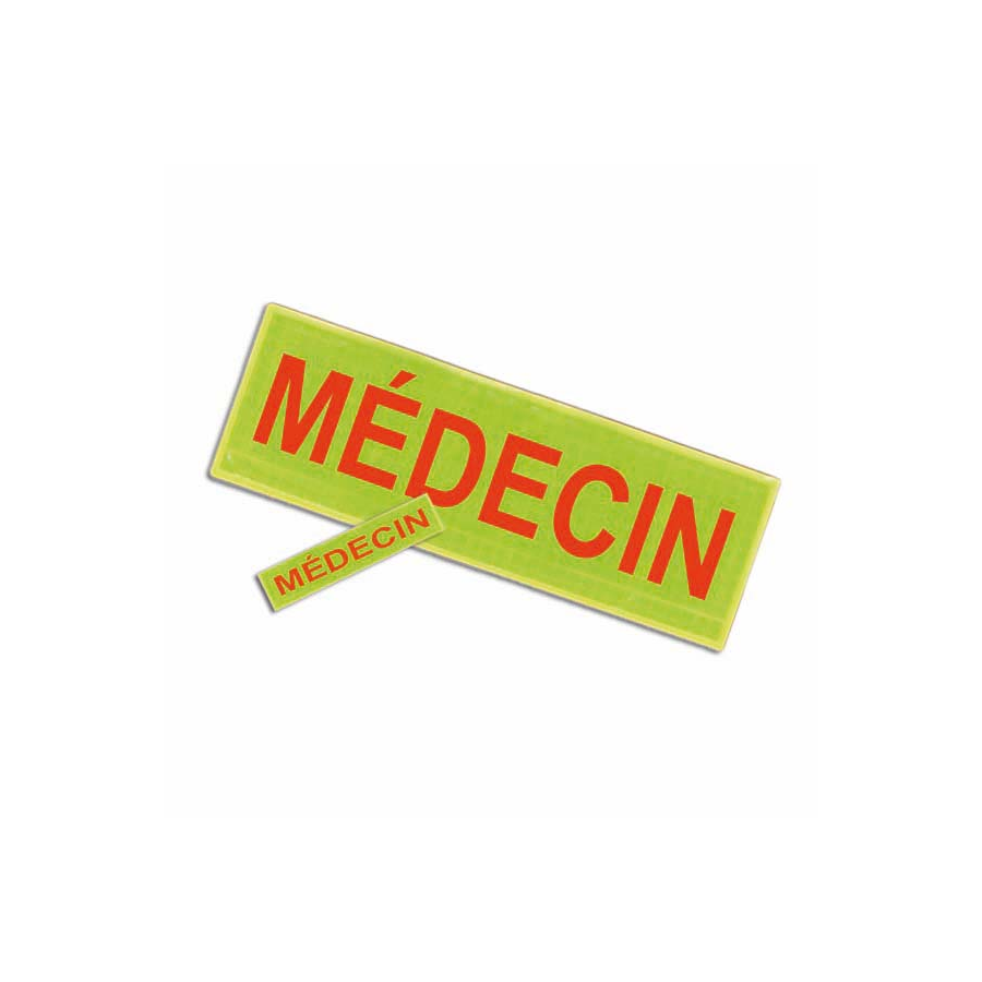 Badge et barrette MEDECIN