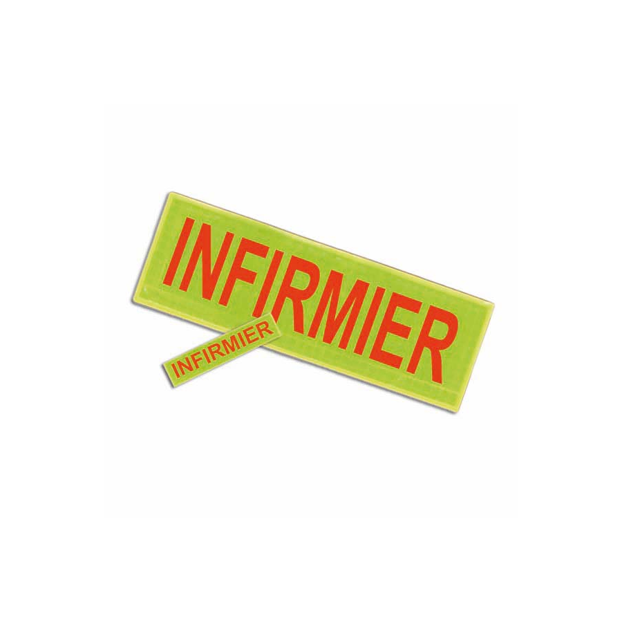 Badge et barrette INFIRMIER