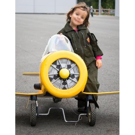 Combinaison de vol enfant Bleu pétrole
