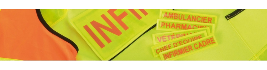 Badges et bandes patronymiques